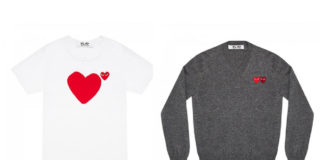 Comme des Garcons Big Heart Collection