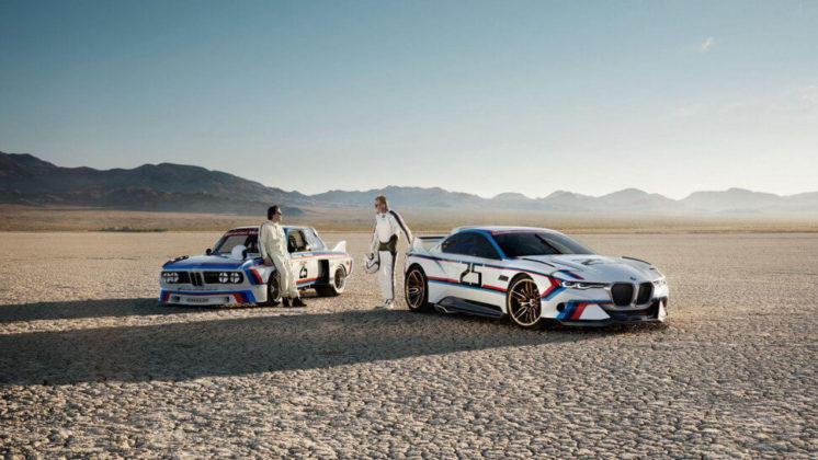 2015 BMW CSL Hommage R Old and New