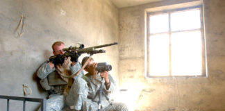 Army Sniper Tricks zur Konzentration